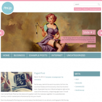 John Smith Wordpress Theme: PinUp