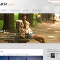 John Smith Wordpress Theme: WomanSecret