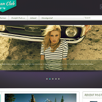 John Smith Wordpress Theme: Woman Club
