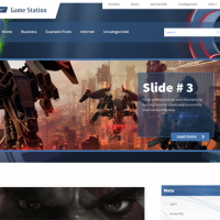 John Smith Wordpress Theme: GameStation