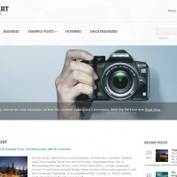 John Smith Wordpress Theme: Tech Art