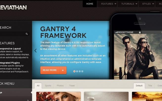 Wordpress Theme: Leviathan August 2013