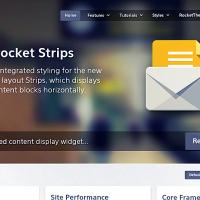 RocketTheme Wordpress Theme: Hexeris WP