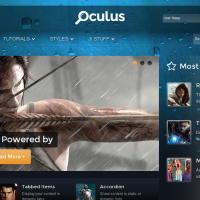 RocketTheme Joomla Template: Oculus
