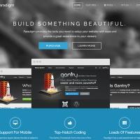 RocketTheme Joomla Template: Paradigm