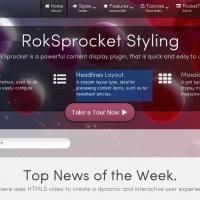 RocketTheme Wordpress Theme: Lumiere