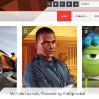 RocketTheme Wordpress Theme: Corvus WP