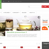 LeoTheme Prestashop Template: Leo Tea Prestashop Theme