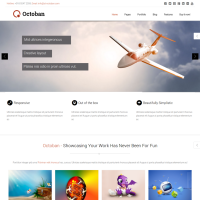 Drupal Free Theme - ST Octoban