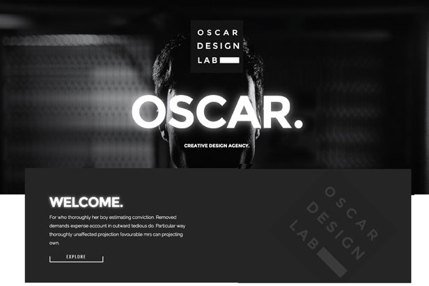 Wordpress Theme: Oscar - Agency And Shop Multipurpose Templates