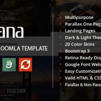 AngevinWatson Joomla Template: Rozana - Responsive MultiPurpose Bootstrap Template