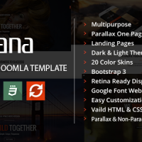 AngevinWatson Joomla Template: Rozana - Responsive MultiPurpose Joomla Template