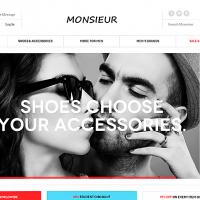 joomlart Magento Template: JM Monsieur