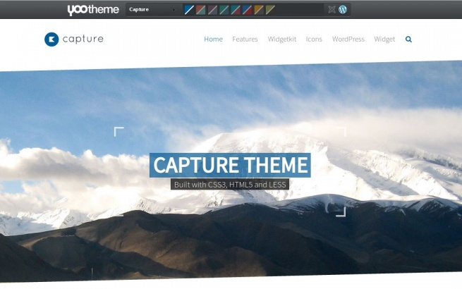 Wordpress Theme: Capture
