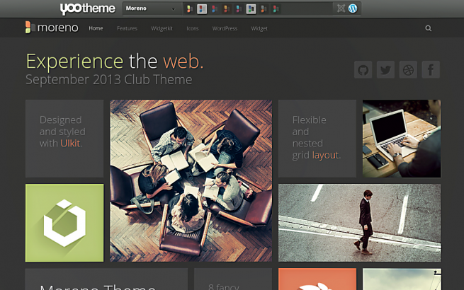 Wordpress Theme: Moreno