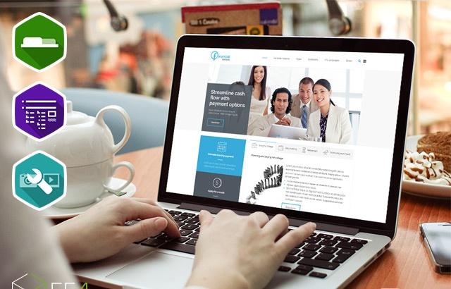 Joomla Template: JM Financial Services