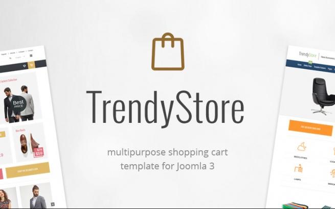 Joomla Template: JM Trendy J2Store