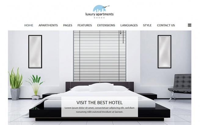 Joomla Template: JM Apartments