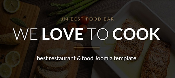 Joomla Template: JM Best Food Bar