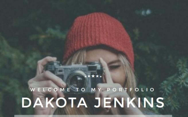 Joomla Template: JM Portfolio