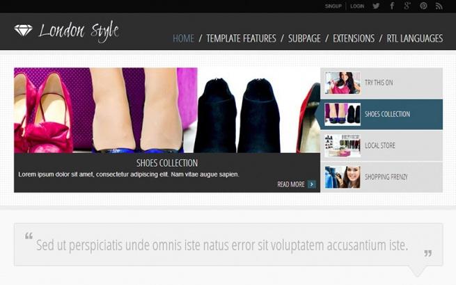 Joomla Template: JM-Fashion-Trends