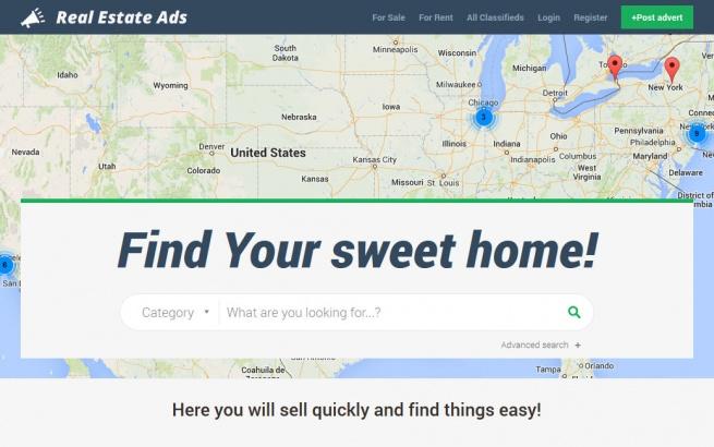 Joomla Template: JM Real Estate Ads