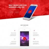 Joomla-Monster Joomla Template: JM App