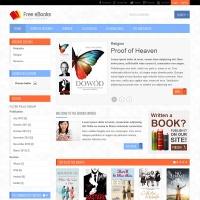 Joomla-Monster Joomla Template: JM-Free-Ebooks