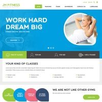 Joomla-Monster Joomla Template: JM Fitness Joomla 3 template