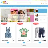 Joomla-Monster Joomla Template: JM-Kids-Fashion-Store
