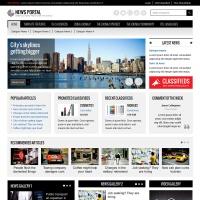 Joomla-Monster Joomla Template: JM-News-Portal