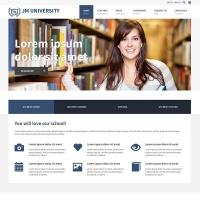 Joomla-Monster Joomla Template: JM University