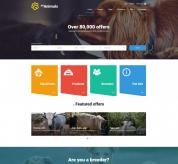 Joomla Premium Template - JM Animals Classifieds