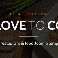 Joomla Premium Template - JM Best Food Bar