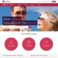 Joomla-Monster Joomla Template: JM Dating Joomla 3 template