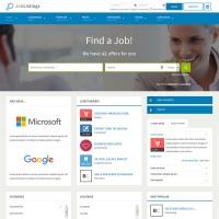 Joomla-Monster Joomla Template: JM Job Listings