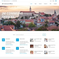 Joomla Free Template - JM Commune Offices
