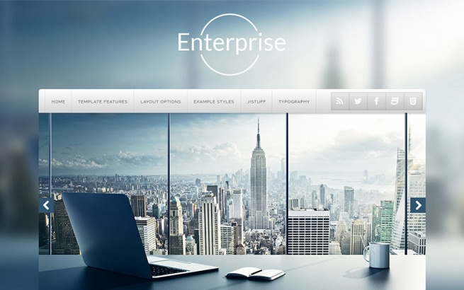 Joomla Template: J51 - Enterprise