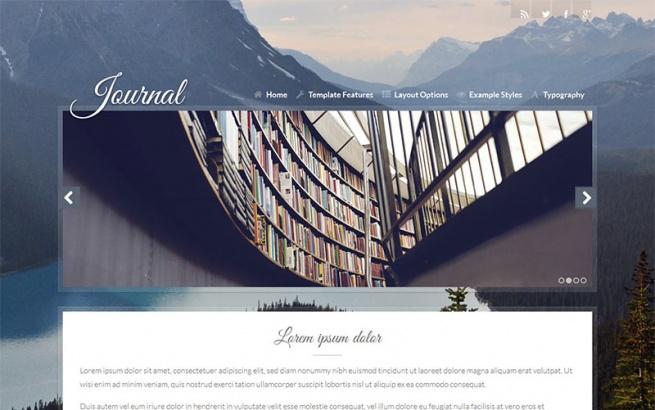 Joomla Template: J51 - Journal