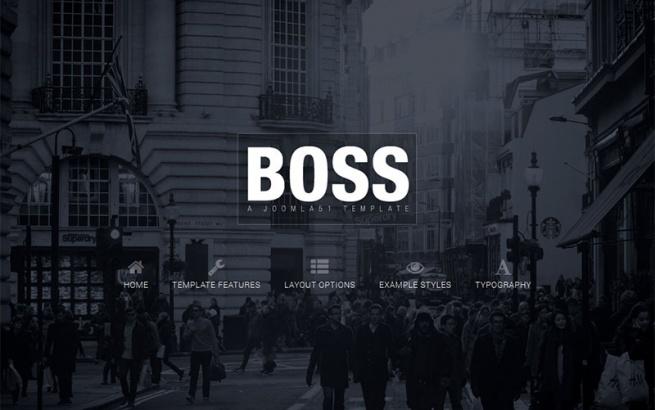 Joomla Template: J51 - Boss
