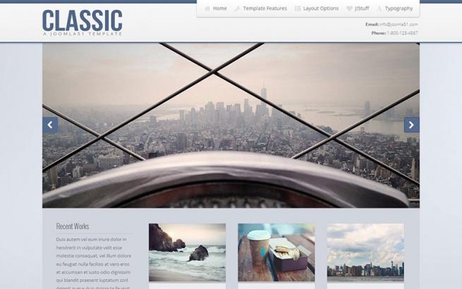 Joomla Template: J51 - Classic