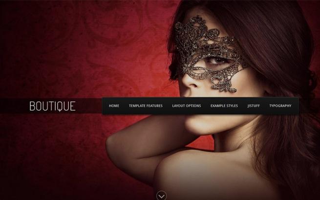 Joomla Template: J51 - Boutique