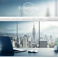 Joomla Premium Template - J51 - Enterprise