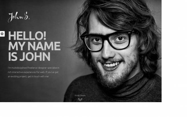 Wordpress Theme: John