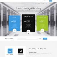 GavickPro Joomla Template: CloudHost