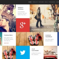 GavickPro Joomla Template: (M) Social