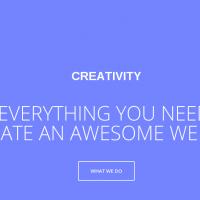 GavickPro Joomla Template: Creativity Responsive, one page portfolio Joomla template