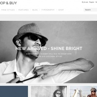 Wordpress Free Theme - Shop & Buy