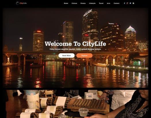 Joomla Template: Citylife