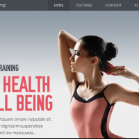 JoomlaXTC Joomla Template: Fitness Life